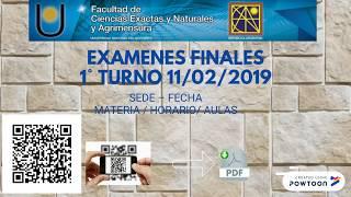 EXAMENS 1T 11 en 12 02 2019 FaCENA - ÉÉN