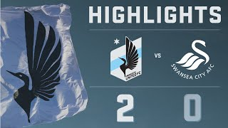 HIGHLIGHTS: Minnesota United FC vs. Swansea City AFC | July 19, 2014