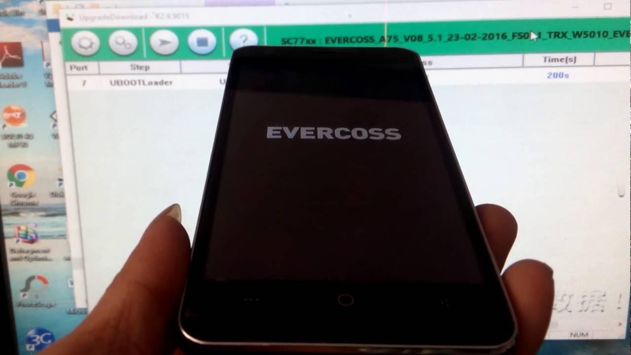 Flash Evercoss A75 Winner Y Max Youtube