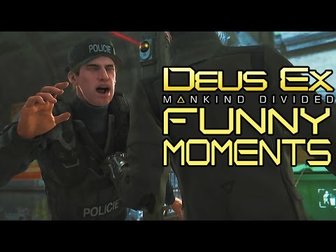 Deus Ex: Mankind Divided   Dealing with Drahomir (Funny Moments)