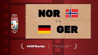 Norway – Germany | Live | Group B | 2021 IIHF Ice Hockey World Championship