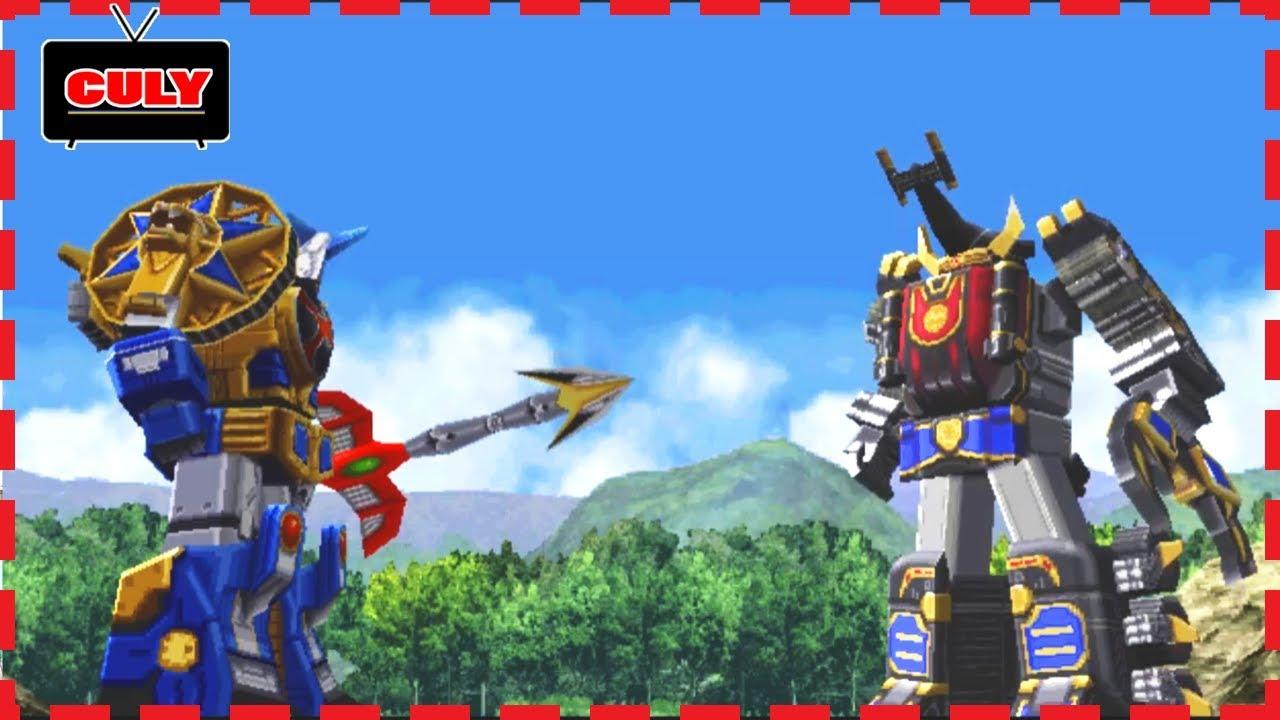 Siêu nhân cuồng phong 3D đi cảnh #4 – cu lỳ chơi game Ninpu Sentai Harikenger power rangers ps one