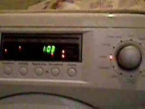daewoo wash machine