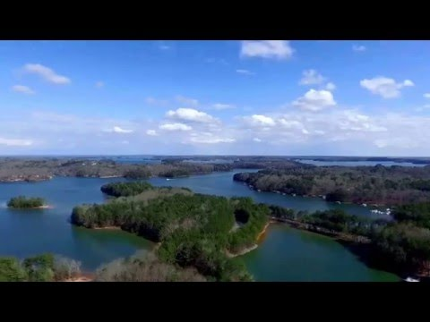Drone Video from The Drone Co. at Lake Lanier in Flowery Branch, Georgia.