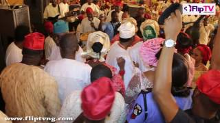 SEE HOW BILLIONAIRES PARTY AT GBENGA DANIELS 6OTH BIRTHDAY WITH KSA ON STAGE