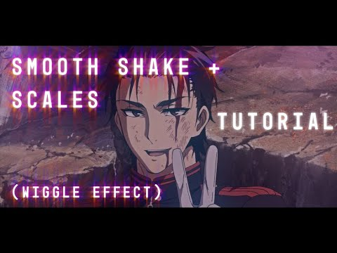 smooth shake + scales | wiggle effect -- after effects tutorial