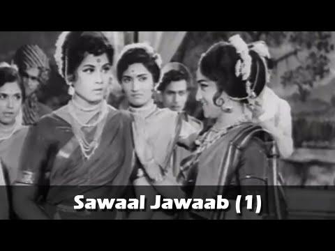 Sawaal Jawaab (Part 1) - Arun Sarnaik, Jayshree Gadkar - Gan Gaulan Movie