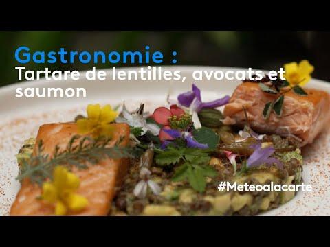 gastronomie-:-tartare-de-lentilles,-avocat-et-saumon