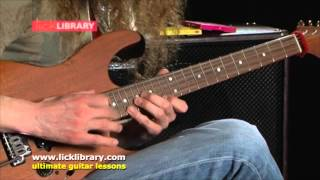 Wonderful Slippery Thing - Arpeggio Lick Guthrie Govan Lesson | Licklibrary Web Cast