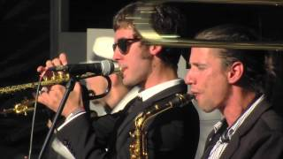 Pannonia Allstars Ska Orchestra Live - Sammy Dead @ Sziget 2012