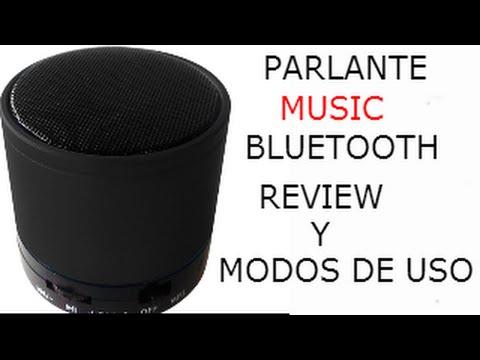 REVIEW/MODOS DE USO DE PARLANTE BLUETOOTH MUSIC