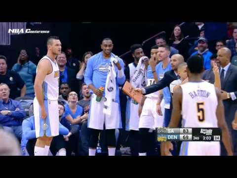 San Antonio Spurs vs Denver Nuggets   Full Game Highlights  Jan 5 2017  2016 17 NBA Season