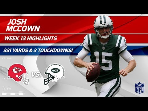 Josh McCown's CLUTCH 331 Yards & 3 TDs vs. KC! | Chiefs vs. Jets | Wk 13 Player Highlights