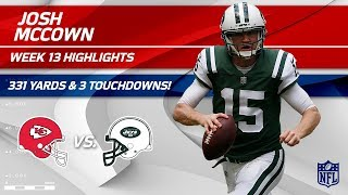 Josh McCown\'s CLUTCH 331 Yards & 3 TDs vs. KC! | Chiefs vs. Jets | Wk 13 Player Highlights
