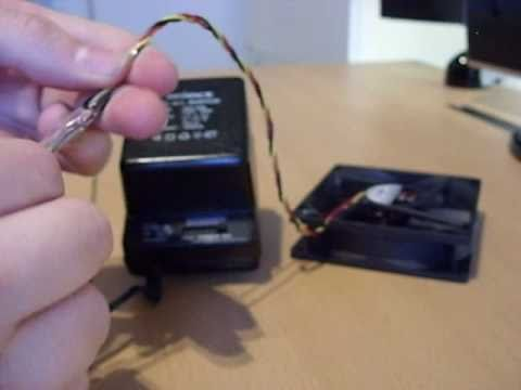 Power A Pc Fan Using Plug In Transformer How To Youtube
