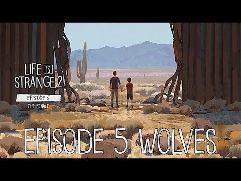 Финал Life is Strange 2 - Эпизод 5 Часть 3:Снос заграждения и отказ Даниэля