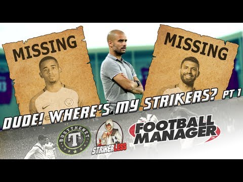 FM17 | Dude Where's My Strikers - An FM Tactics Special with Guido Merry | ECL Final vs Man Utd |