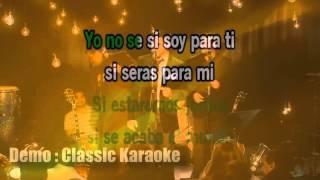 Luis Enrique - Yo No Se Mañana (Salsa Version)(Demo Karaoke VJ Karnal)(Free - Gratis)
