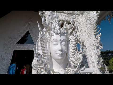 Wat Rong Khun - The White Temple. Chiang Rai, Thailand