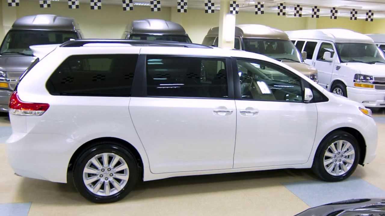 2014 Toyota Sienna Awd Limited W Youtube