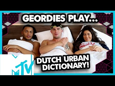 Geordie Shore Dutch Urban Dictionary Challenge | MTV