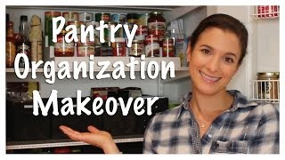 Pantry Organization Makeover (kitchen Series 2013)
