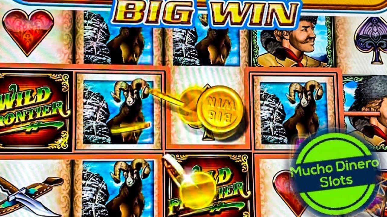 WILD FRONTIER SLOT JACKPOT/ HIGH LIMIT/ MUCHO DINERO/ FREE GAMES