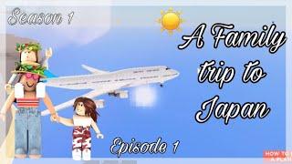 Roblox - France Voyage au Japon . Saison 1 Épisode 1