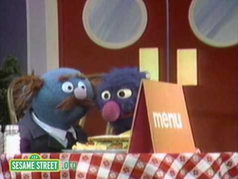 Sesame Street: Grover Serves A Sandwich