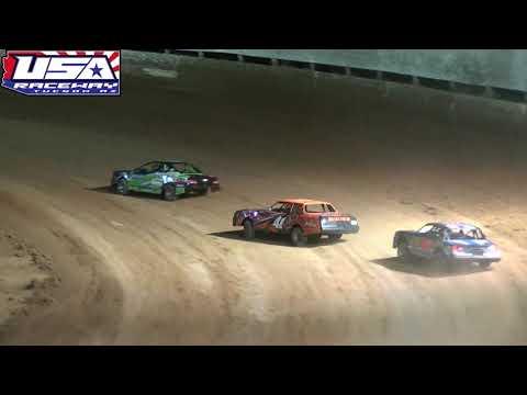 USA Raceway IMCA Stock Car Main Apr 27 2019