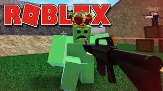 Roblox - O CHEFÃO KING SLIME ( Zombie Attack )