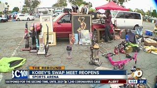 Kobey's swap meet reopens