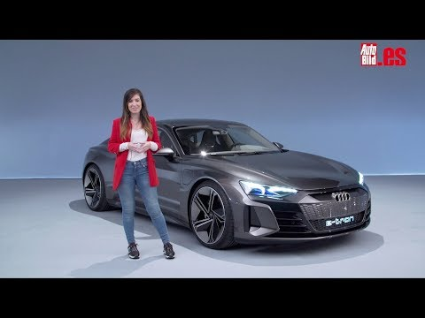 Audi e-tron GT concept: un Gran Turismo eléctrico, deportivo y vegano