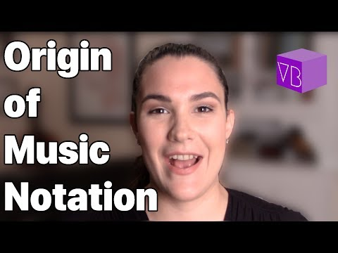 The Origin of Music Notation