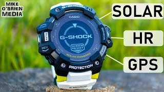 NEW G-SHOCK MOVE (GBD-H1000) - Complete Solar Powered Fitness Watch [HR, GPS, Thermometer]