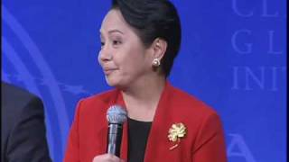 President Arroyo at Clinton Global Initiative-Asia
