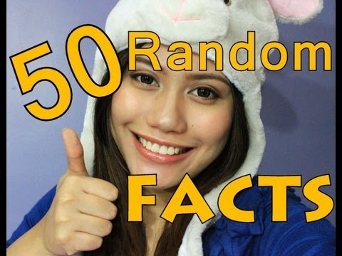 ❤ 50 Random Facts About Me (TAGALOG) | Purpleheiress