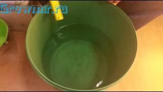 Как правильно менять раствор на гидропонике. Гидропонная система, Хеси для воды. Удобрения для воды(В данном видео описано как правильно менять питательный раствор на гидропонике. Удобрения Хеси. Регуляторы..., 2015-04-28T10:46:39.000Z)