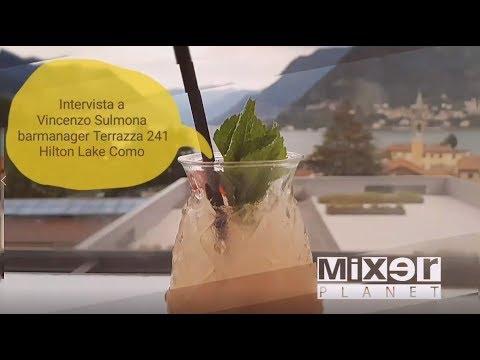 Tendenza Pink Cocktail La Drink List Della Terrazza 241 Di Hilton Como Lake