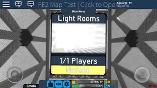 Roblox FE2 MAP TEST - Light Rooms [NORMAL] by ROBLOXGamerBoy441