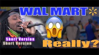 Unchained Melody Sung Inside Walmart (Public Reaction) Short Version