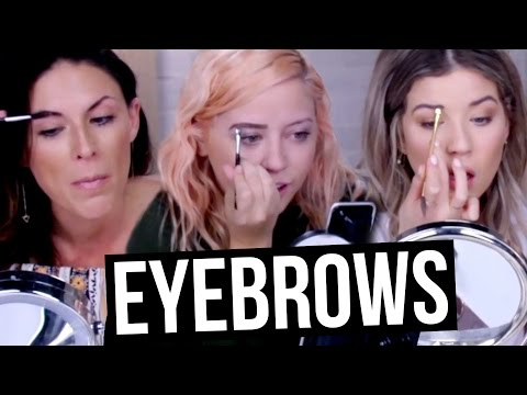 How WE Do Our Everyday Eyebrow Makeup (Beauty Break)