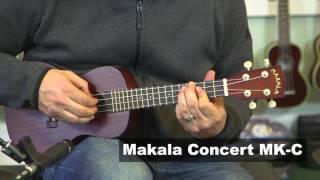 """Makala MK-C Ukulele Demo """"You are My Sunshine"""""""