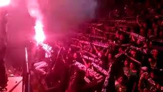 Aksi Curva Nord 1955 Anthem PSPS RIAU Distadion Teladan Medan