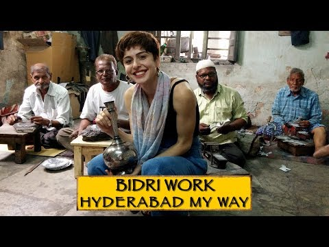 Bidri Craft Tour || Hyderabad