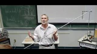 Singing Rods Physics demonstration - NPS Physics