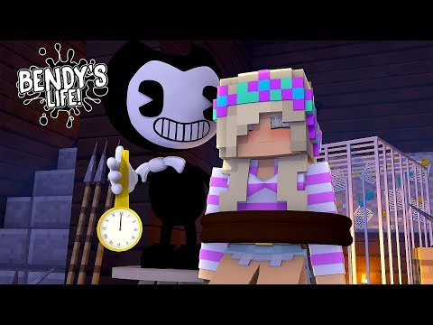 Minecraft BENDY'S LIFE | BENDY HYPNOTIZES LEAH TO BE HIS SLAVE & KILL DONNY & ALICE ANGEL | Roleplay