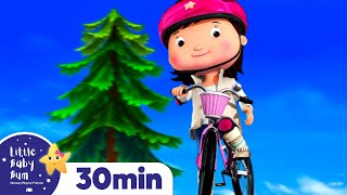 Riding My Bike Song! Science! +More Nursery Rhymes & Kids Songs - ABCs and 123s | Little Baby Bum