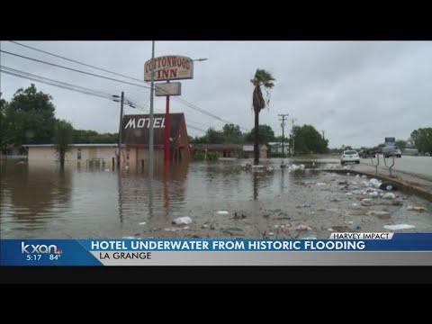 KXAN - La Grange motel owners swamped by recent flooding