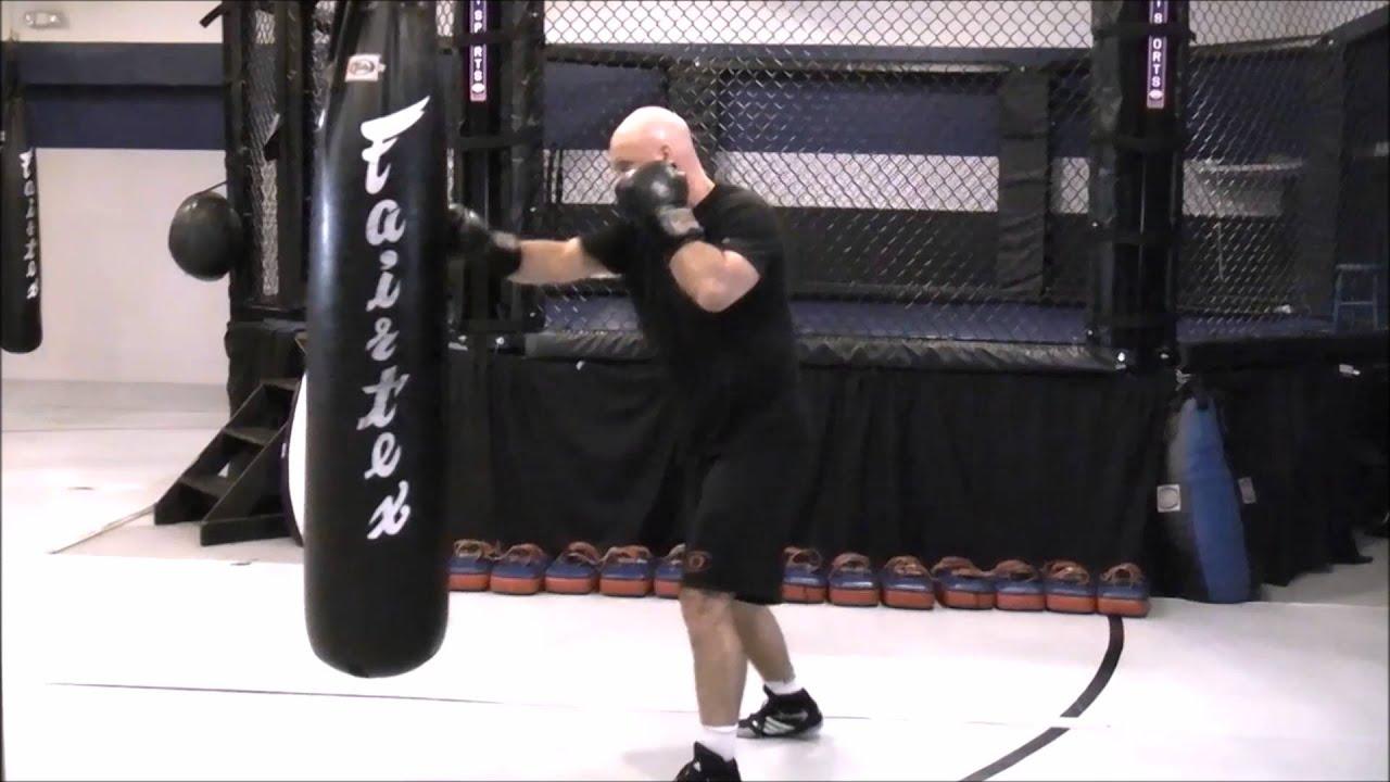 2d3f92dc03f Boxing - Heavy Bag Drill  Long Range Pepper - YouTube